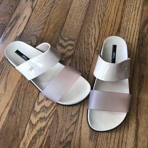 Melissa Cosmic Slide Sandals, Women's size 9